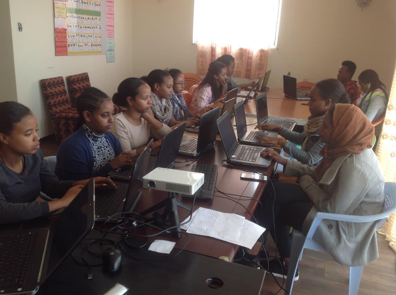 Internship Student                     Working On Digitalization