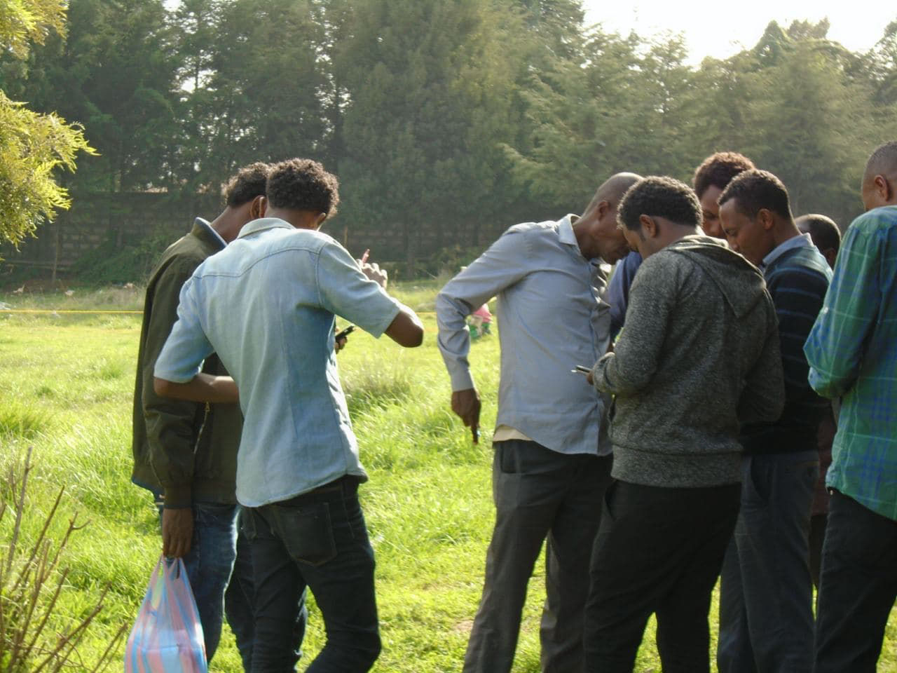 Field Visit With                 Technical Team